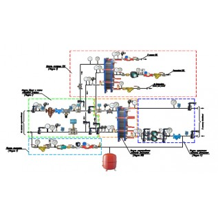 Проект автоматизированного теплового пункта (без согласования)