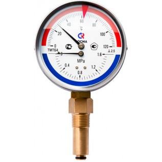 Поверка термоманометров